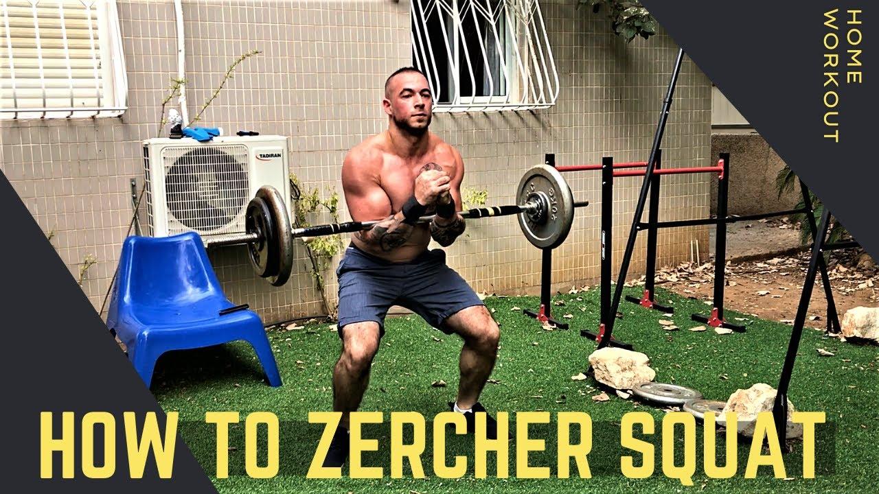 How To Zercher Squat The Zercher Squat Youtube