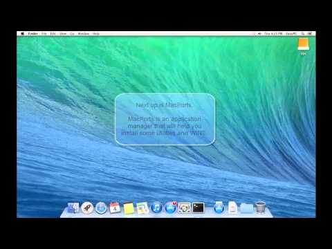 How To Install Wine on Mac OS X Using MacPorts
