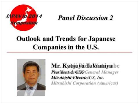 JAPAN in 2014 Symposium - Panel 2: Outlook and Trends for Ja