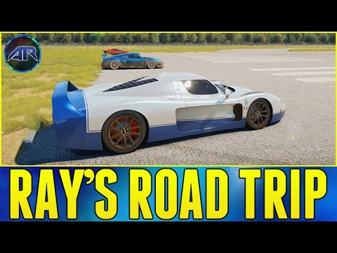 forza horizon 2 top gear challenge ray 39 s road trip part 2 youtube. Black Bedroom Furniture Sets. Home Design Ideas