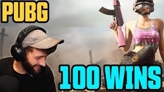 100 CHICKEN DINNERS IN ONE VIDEO // PUBG Xbox One