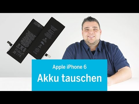 iPhone 6 - Akku wechseln / battery replacement