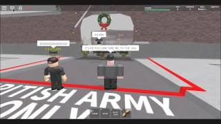 trolling British army academy on roblox