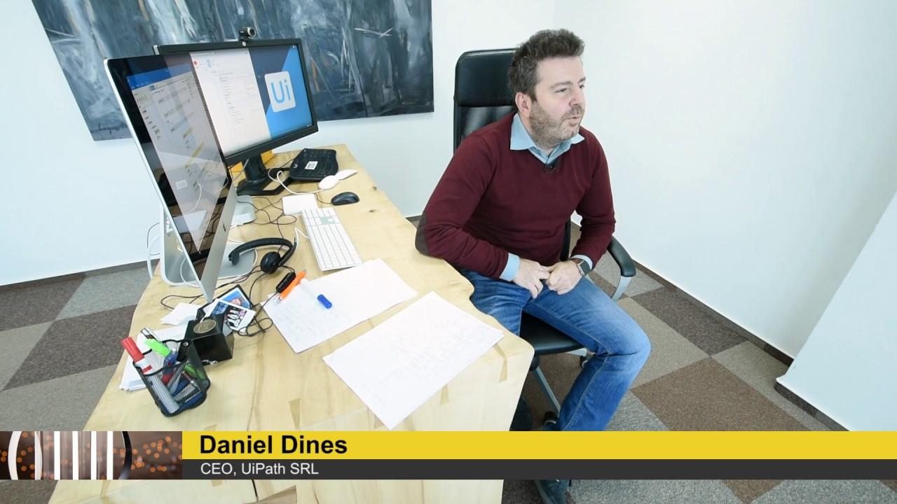 Daniel Dines, UiPath - Emerging Entrepreneur Of The Year Romania 2016