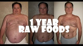 One Year Juice Fast & Raw Foods Results BEFORE & AFTER PICTURES