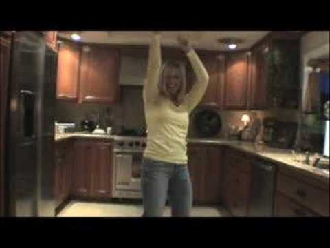 Kitchen Dancing to: She's a Hottie