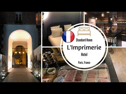 L'Imprimerie Hotel PARIS, Standard Room REVIEW!