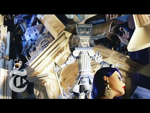 Making Bergdorf Goodman Holiday Windows In 2014 | The New York Times