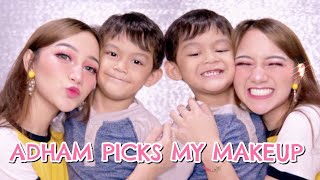 ADHAM PICKS MY MAKEUP - CHIT CHAT [BAHASA]