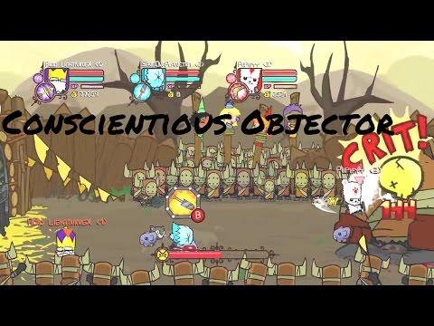 Castle Crashers Remastered Conscientious Objector Achievement