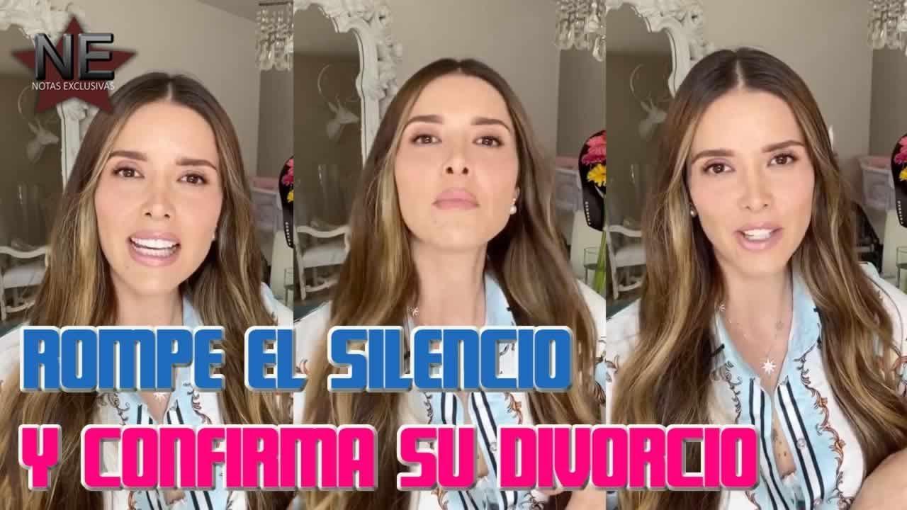 Marlene Favela confirma que le pidió el divorcio a su esposo