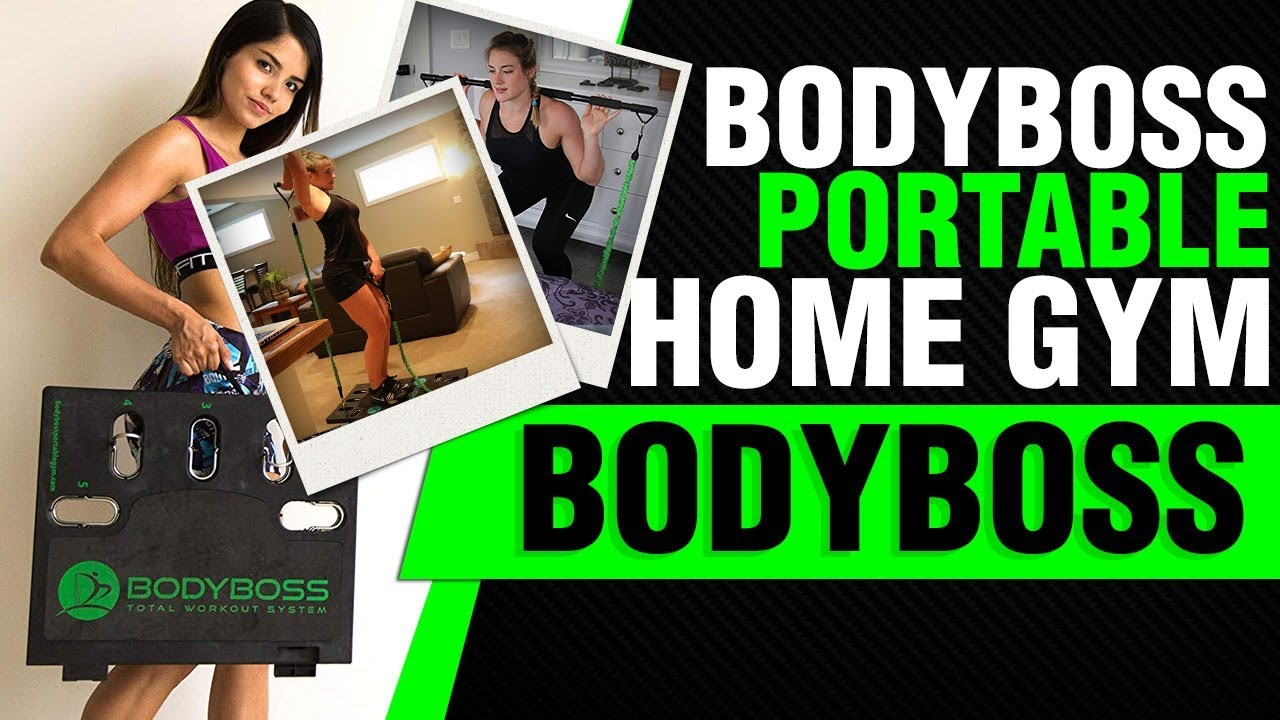 Bodyboss portable gym the world s st home gym you can take anywhere