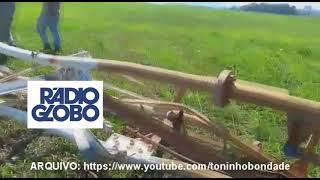 FIM DA RÁDIO GLOBO AM 1220 E RÁDIO CBN AM 860 (RJ) A TORRE FOI DERRUBADA HOJE, 22/09/2018 Video