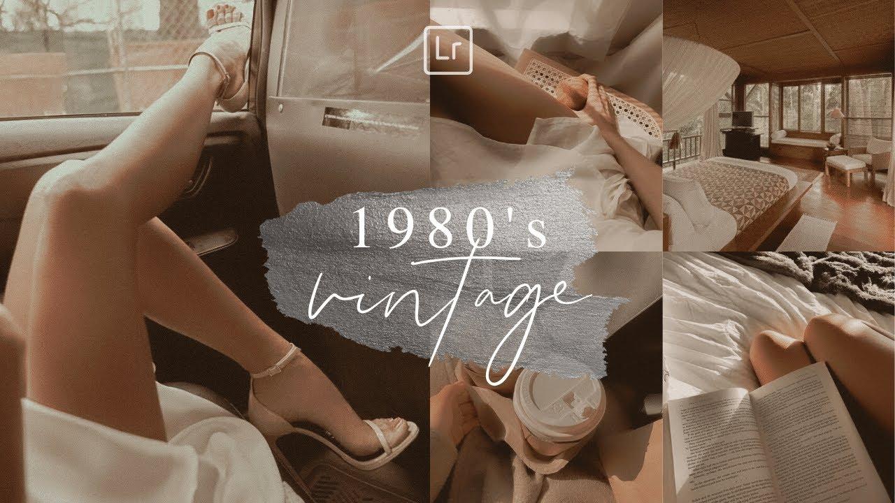 1980's VINTAGE PRESET Lightroom Mobile Free DNG | Lightroom Presets Tutorial Mobile
