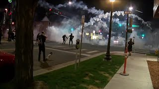 People continue violent protests in downtown Denver