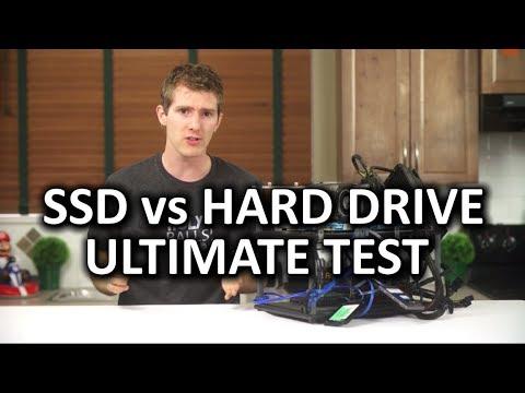 SSD vs Hard Drive Torture Test