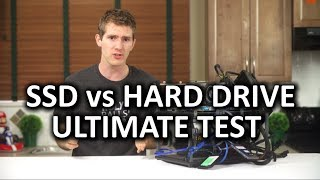 SSD vs Hard Drive Torture Test