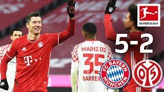 FC Bayern München - 1. FSV Mainz 05 | 5-2 | Highlights | Matchday 14 – Bundesliga 2020/21