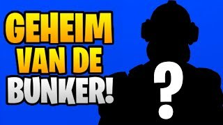HET GEHEIM VAN DE BUNKER! - Fortnite Battle Royale