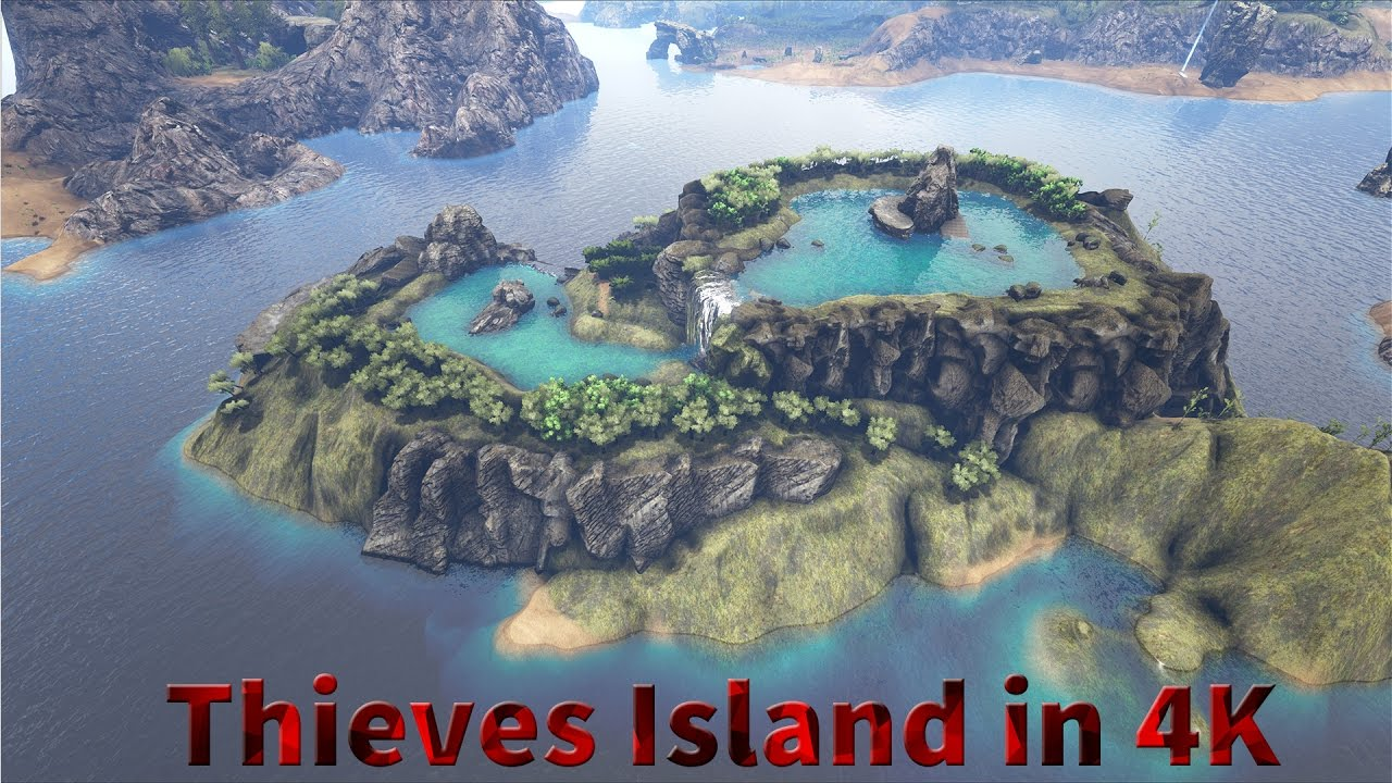 Thieves Island Map Showcase 4k 60fps Youtube