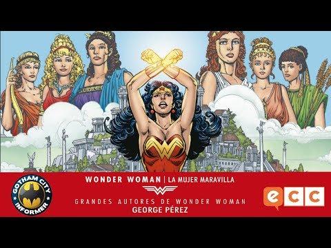 WONDER WOMAN DE GEORGE PEREZ  | Gotham City Informer | Todo Batman en Español