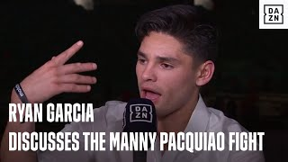 Ryan Garcia Discusses The Manny Pacquiao Fight & What Happened