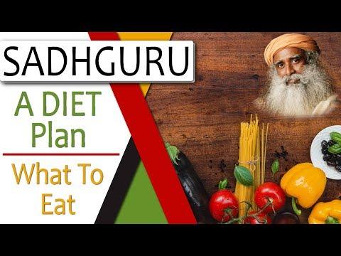 What to Eat, Diet Plan – Sadhguru (Important)