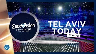 TEL AVIV TODAY - 7 MAY 2019 - Second Semi-Finalists take the Eurovision stage - Eurovision 2019
