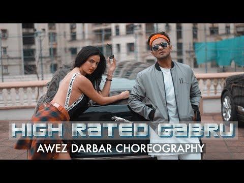 HIGH RATED GABRU | NAWABZAADE | AWEZ DARBAR CHOREOGRAPHY