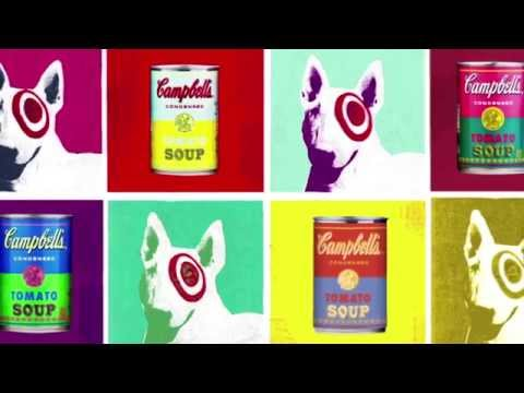 Campbell's Target Warhol 50th Anniversary
