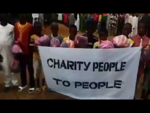 Charity People 2 People Clothes Donation Conakry Guinea West Africa