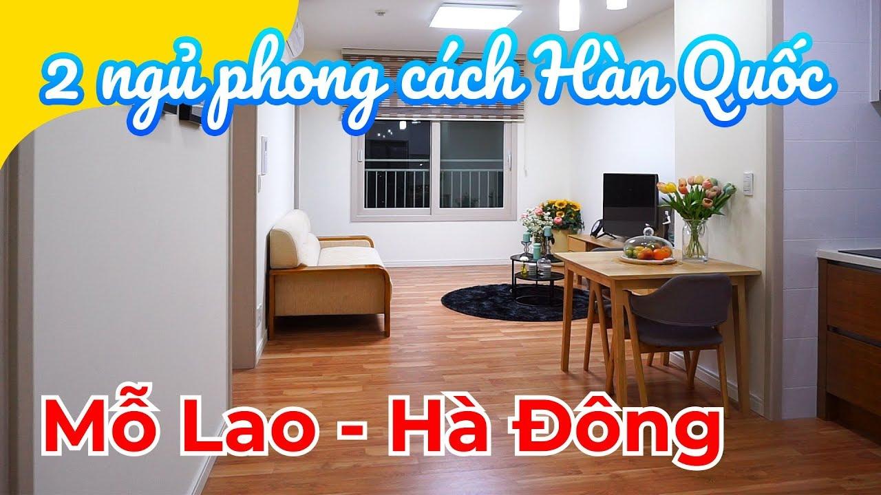 Chung cư phong cách HÀN QUỐC tại quận Hà Đông: 2.3 tỷ – 2 ngủ – 73m2 (Booyoung Vina Mỗ Lao, Hà Đông)