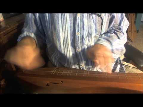 Robison/Sams three-string dulcimer