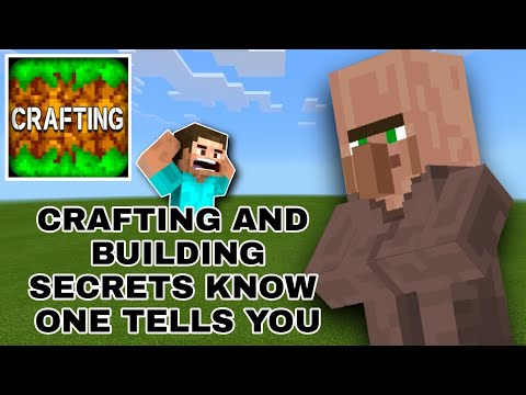 Secrets of Crafting and Building Know one Tells you