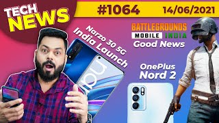Download BGMI Good News, Narzo 30 5G India Launch,OnePlus Nord 2 = realme X9 Pro, Galaxy M32 Launch-#TTN1064