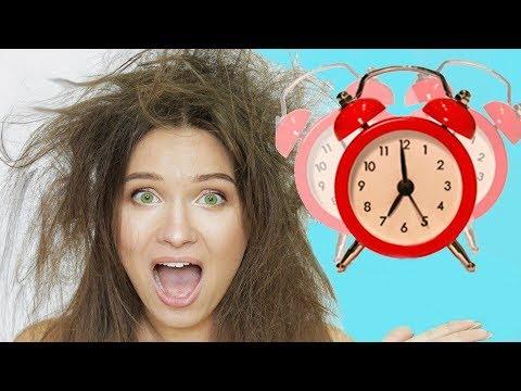 Как быстро проснуться утром в школу
