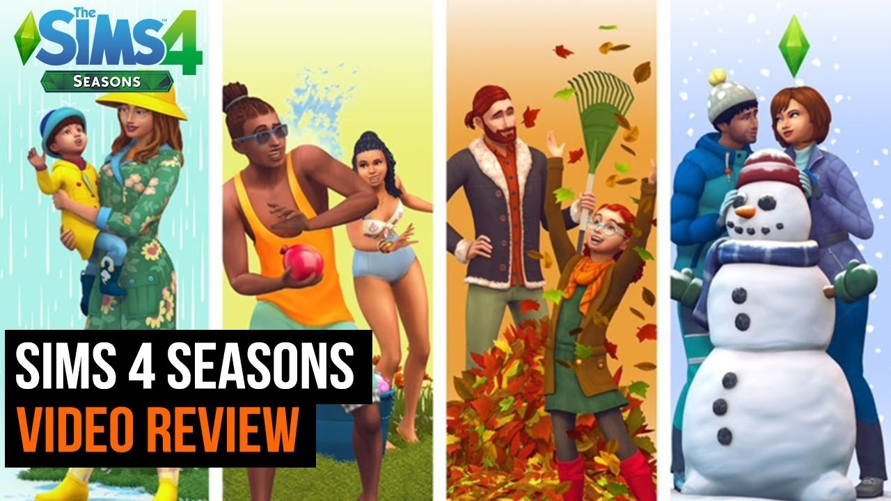 Sims 4: Seasons video review