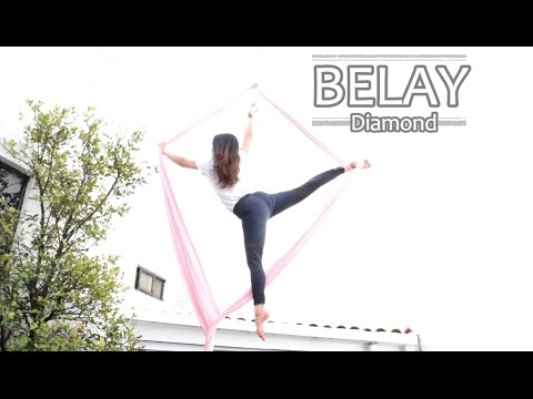 Belay Diamond // Cross diamante (Danza Aérea/Aerial Silks)