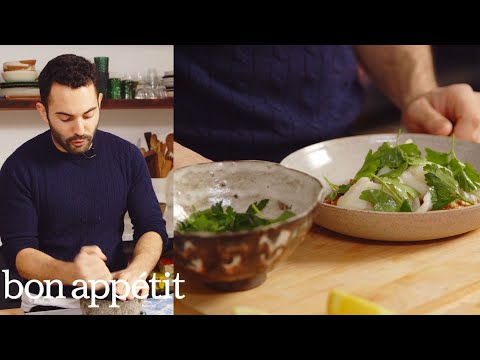 Andy Teaches You How To Use A Mortar And Pestle | Healthyish | Bon Appetit