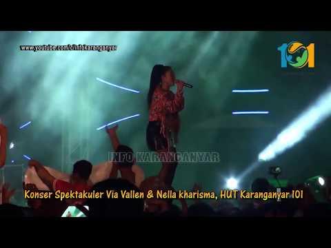 SERA Ambilkan Gelas iva Berlian Konser Via Vallen & Nella K 101 Karanganyar