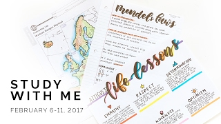 Study With Me: February 6 - 11, 2017