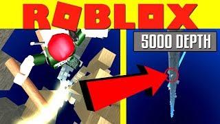 5.000 PROFONDITÀ + DIO PICCONE ⛏️ | Roblox grande scavo di Booga!!