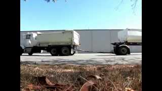 1995 Kenworth Dump Truck with Wesco Transfer Trailer