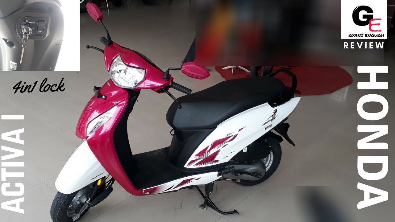 Download Honda Activa i 2018 | now with 4in1 lock | seat opening switch | detailed review | features !!!