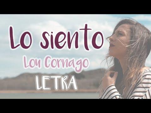 LO SIENTO - LOU CORNAGO LETRA (BERET COVER)