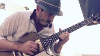 Blues Guitar Lessons and videos. Blues Electric Guitar Solo! Gibson Firebird 1976.