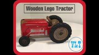 Lego Wooden Tractor From 1953
