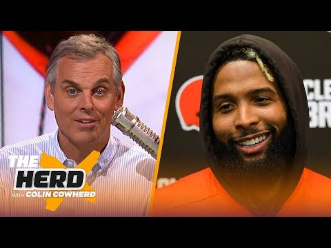 colin-talks-obj's-gq-interview-and-goals,-says-belichick-is-greatest-of-all-time-|-nfl-|-the-herd