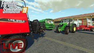 """???? [LIVE] Farming Simulator 19 - """"Test stream na dwie perspektywy"""" - Na żywo"""