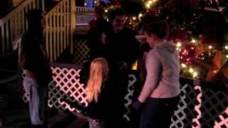 Andrew Winn proposing to Miranda Hamel